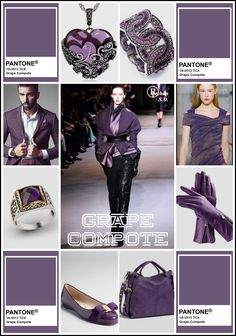 """ Grape Compote "" Pantone – Spring/ Summer 2020 Color- by Reyhan S. Amethyst Elfe "" Grape Compote "" Pantone – Spring/ Summer 2020 Color- by Reyhan S. "" Grape Compote "" Pantone – Spring/ Summer 2020 Color- by Reyhan S. Wedding Color Combinations, Arctic Fox Hair Color, Pantone 2020, Fashion 2020, Fashion Trends, Women's Fashion, Popular Hairstyles, Fashion Colours, Colors"
