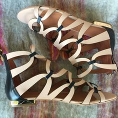 2d4e9001a68 Messeca New York Natural X Free People Costa Brava Sandals Size US 8 Regular  (M