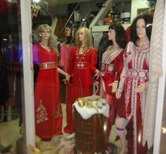 Roupa marroquina - de luxo (shopping Casablanca)
