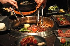 Gyu Kaku restaurant - Japanese DIY bbq dining. One of my favourite places in the city of Los Angeles