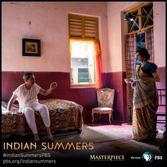 Darius (Roshan Seth) and Roshana (Lillete Dubey) Dalal's House   Indian Summers, as seen on MASTERPIECE on PBS