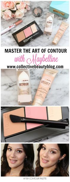 Master the art of contouring with the Maybelline Master Contour Palette and Dream Velvet Foundation! #MNYLooksToLove #ad
