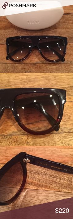 New Celine Sunglasses 41026/s These are brand new never worn authentic Celine style 41026/s Sunglasses. I got them for Christmas and they were too big for me sadly! They are in perfect condition. Celine Accessories Sunglasses