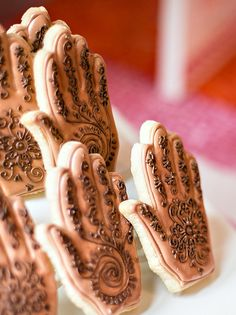 Indian Henna Inspired Bridal Shower - Bella Paris Designs