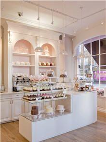 The interior of Peggy Porschen Cakes