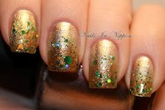Great plan for simple St. Patty's mani for this weekend!