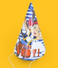 Disney Celebrate Jake and the Never Land Pirates Printable Pack Party Hats