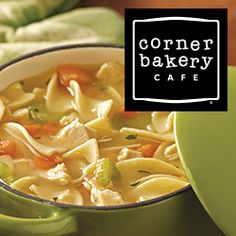 Complement your meal with a #FREE cup of homemade soup & a freshly baked cookie from @CornerBakery Cafe!