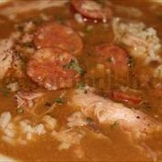 Cajun Chicken and Sausage Gumbo on BigOven: This is my own recipe that I make for my family. Its simple and always turns out great. I am a true Cajun so you know its going to be good.