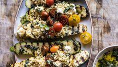 Τα πιο Νόστιμα Γεμιστά Κολοκυθάκια που Έχουν Ξετρελάνει το Pinterest!spirossoulis.com – the home issue Orzo, Vegetarian Recipes, Cooking Recipes, Healthy Recipes, Clean Eating, Healthy Eating, Most Delicious Recipe, Half Baked Harvest, Side Dishes Easy