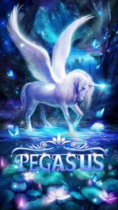 Pegasus Pegasus Art Live Wallpapers Pegasus Cute unicorn live wallpaper