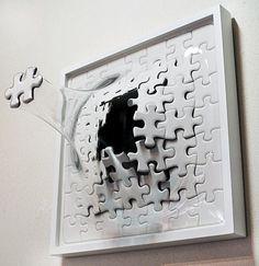 Puzzel explosie