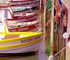 Boats at Fisherman's Wharf, Pier 43