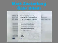 Mark Zuckerberg Herkesten Özür Diledi #BrandingTürkiye #Facebook #Haberler #MarkZuckerberg #ÖzürMektubu #DeleteFacebook #SosyalMedya #DijitalMedya #YeniMedya #SocialMedia #DigitalMedia