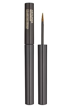 LANCÔME Artliner Gold Passion - Channel Cleopatra with this gold metallic eyeliner by Lancome. #rtr #rtrumass #rtrcampusgirl #renttherunway #beauty #makeup #eyeliner #lancome