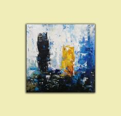 original abstract art on canvas contemporary,living room painting abstract,large abstract canvas wall art,office wall art canvas Abstract Canvas Wall Art, Blue Abstract Painting, Large Canvas Wall Art, Extra Large Wall Art, Painting Canvas, Oversized Canvas Art, Modern Wall Art, Stretching, Artworks