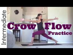Crow Flow - 30 minute Intermediate Yoga Practice