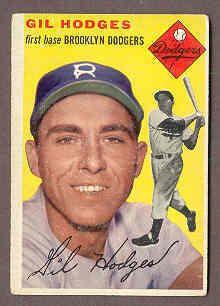 1954 Topps Gil Hodges
