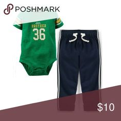 Carters baby boys 2pc outfit - 24m This outfit is new. Size 24m Matching Sets