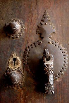 Iranian door details