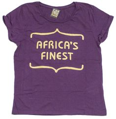 Africa's Finest in Eggplant and Gold