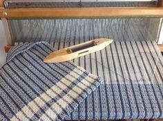 Cotton Traditional Dishtowel on loom