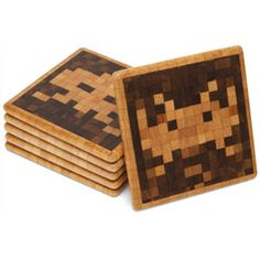ThinkGeek :: Space Invaders Coasters