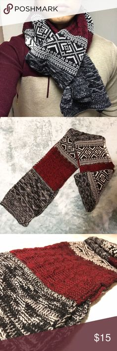BOMBUnisex Fashion Geometric Scarf New never used. Own your style statement with this geometric pattern scarf  Accessories Scarves & Wraps