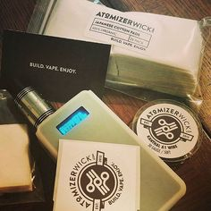 repost @cloudsmoke850 #vapemail from atomzerwick had to get more cotton and 30g kanthal  #snowwolf200w #snowwolf #rda #vape #vapejuice #ejuice #eliquid #organic #organiccotton #handcheck #vapor #vapeonvape #vapesocial #vapesociety #vapecommunity #vaping #vapingcommunity #notblowingsmoke #notsmoke #nosmoke #atomizer #atomizerwick