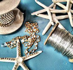 starfish chandelier materials