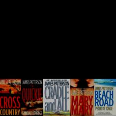 James Patterson books - really enjoy his books, esp the Alex Cross series
