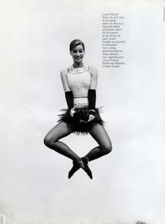 Christy Turlington   Photography by Arthur Elgort   For Vogue Paris   September 1991