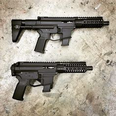 #Repost from @angstadtarms Quick length comparison of the UDP-9 PDW with @mvbindustries ARC stock and our SBR with @lawtactical folding adapter #angstadtarms #udp9 #glock #9mm #lawtactical #sbr #guntrust #guntrustdepot  http://ift.tt/1IW3IDD
