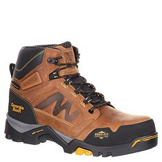 a42939bea Georgia Boot Amplitude Mens 6 Waterproof Work Boots 105 Medium >>> You can  get more details by clicking on the image. (This is an affiliate link) # ...
