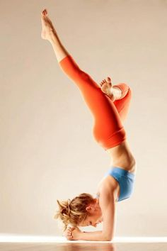 forearm stand -- This. This is what I'm striving for.