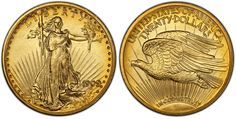 909 is one of the most elusive dates for collectors, with records indicating just 166 of these proofs struck, and 67 sold (the rest were melted). Augustus Saint Gaudens, Coin Auctions, Proof Coins, Rare Coins, Rarity, Gold Coins, The Collector, Dates, Rest
