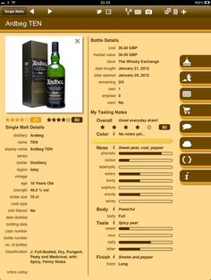 iMalt HD Scotch Whisky Companion