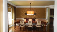 Dining room: Hollywood Glamour