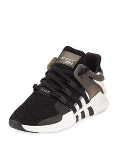 X39U5 adidas Equipment Support ADV Sneaker, Black/White/Pink