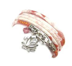 Japanese Chirimen Wrap Bracelet