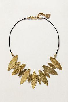 Flecha Necklace #anthropologie  So pretty!!!