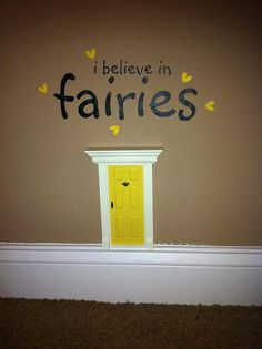 Doesn't necessarily have to be fairy if wsnt to use for boy room.for the tooth fairy to enter the room Fairy Door Fairy Doors by UnbelievableFD on Etsy