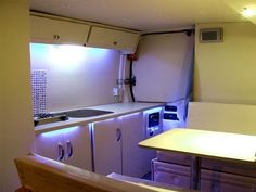 A step-by-step talk-through of how I converted my van into a motorhome on a low budget. Includes tips and the lessons I learned from building the 3 different. Camper Interior, Diy Camper, Camper Life, Small Camper Vans, Small Campers, Sprinter Van Conversion, Camper Conversion, Make Your Own Vans, Converted Vans
