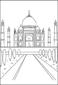 simple capitol building coloring pages - photo#15