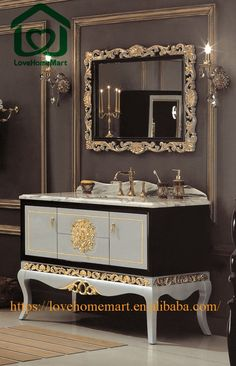 Website Picture Gallery small bathroom vanity tops With Side Cabinet china suppliers
