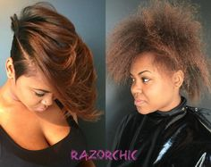 Yass Transformation! via @razorchicofatlanta - Black Hair Information Community