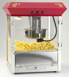 http://www.international-sports.com/  Popcorn machine! Perfect to rent for a movie themed party snack!