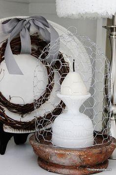13-spectacular-diy-chicken-wire-craft-ideas-13.jpg (533×800)