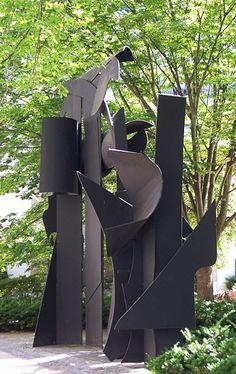 "Louise Nevelson (1899-1988), ""Transparent Horizon"""