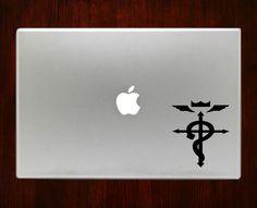 "Full Metal Alchemist Decal Sticker Vinyl For Macbook Pro/Air Decal Sticker Vinyl For Macbook Pro Air 13"" Inch 15"" Inch 17"" Inch Decals"